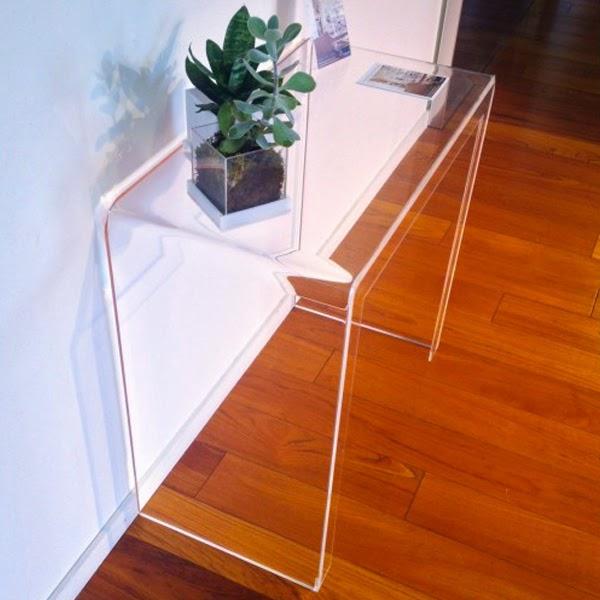 consolle plexiglass