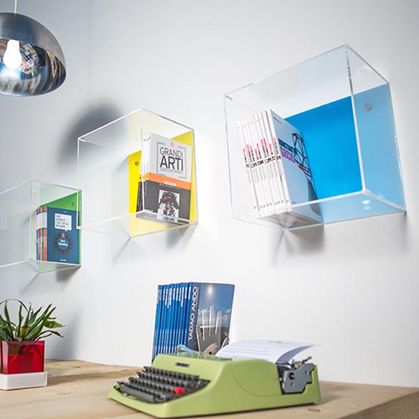 Cubi mensole per arredamento: praticità e design moderno