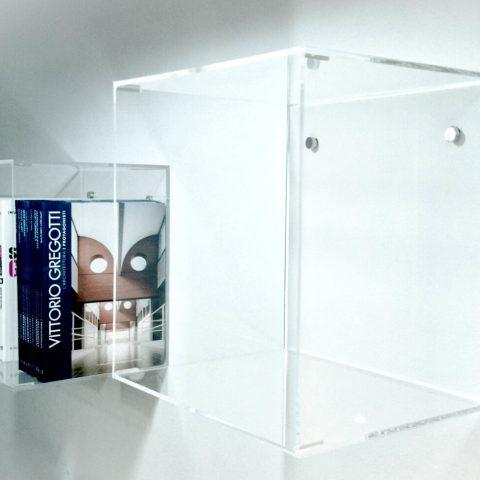 cubi mensola plexiglass