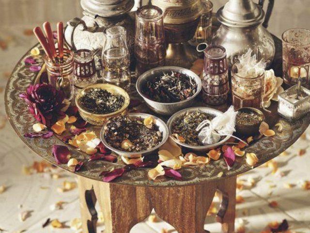 Tavolino da salotto orientale