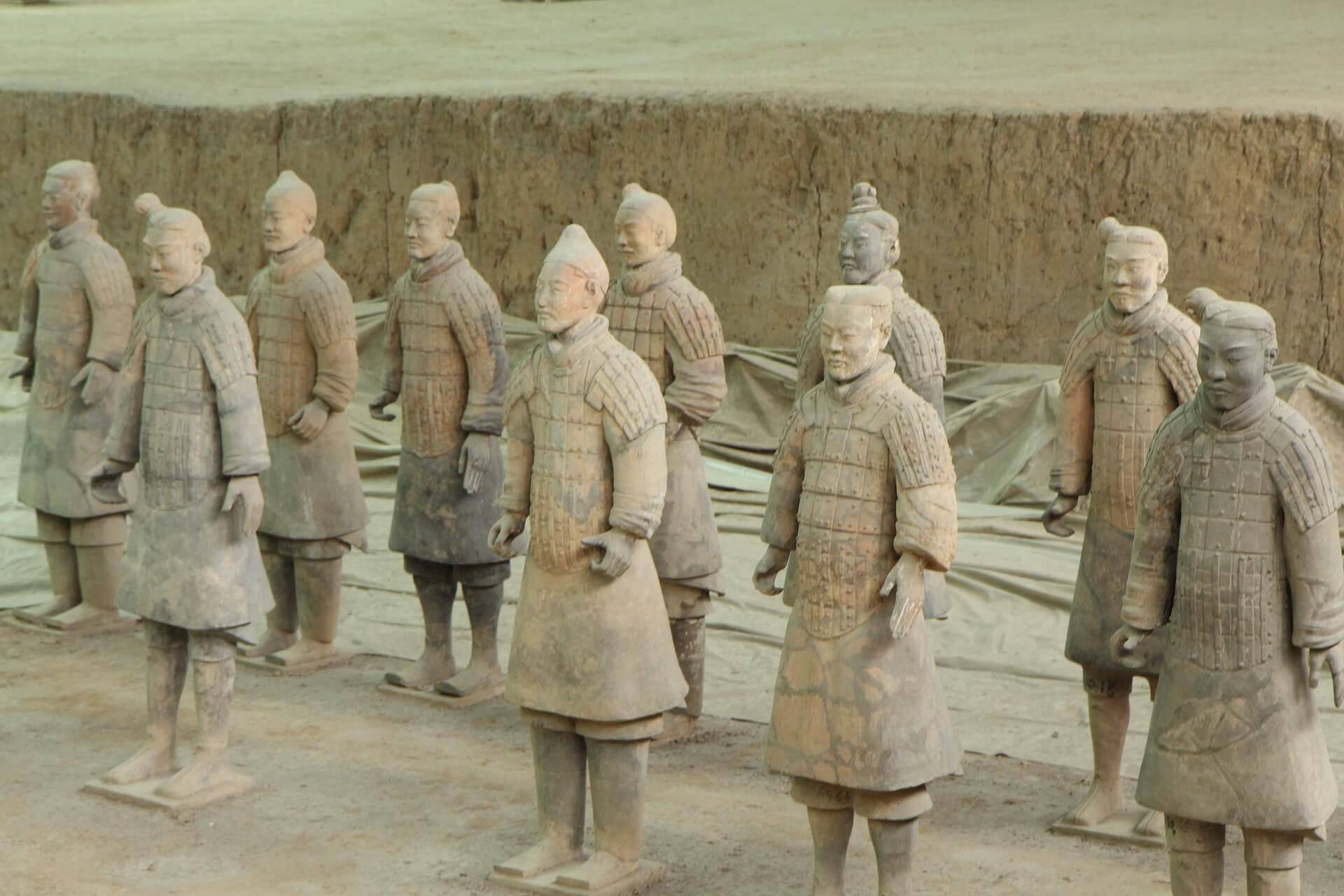 guerrieri di terracotta cinesi