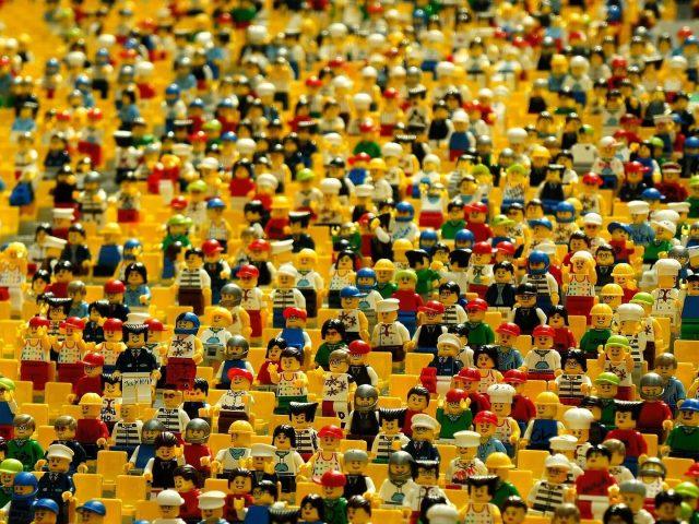 Teca in plexiglass per LEGO