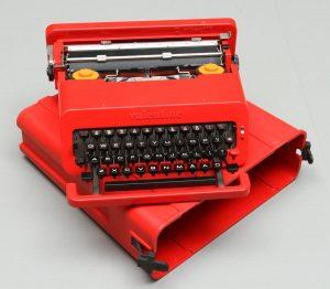 macchina da scrivere velentine