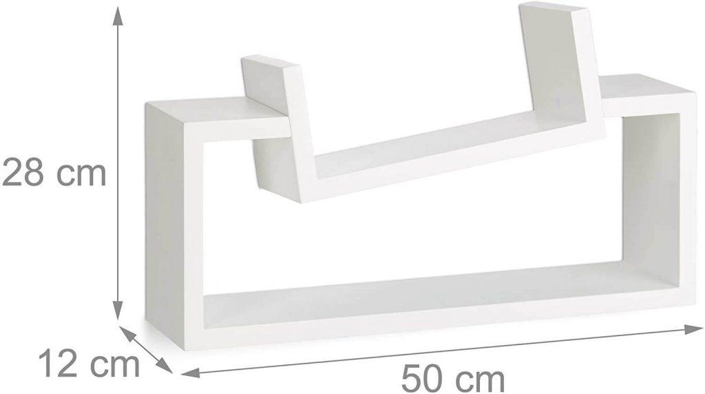 mensola design misure