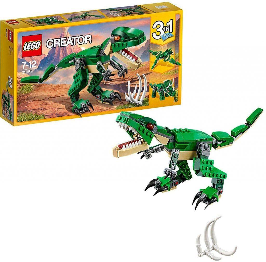 LEGO- Creator Tirannosauro 3 in 1 Set