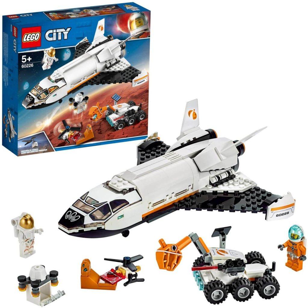 LEGO Shuttle Di Ricerca Su Marte Costruzioni Piccole