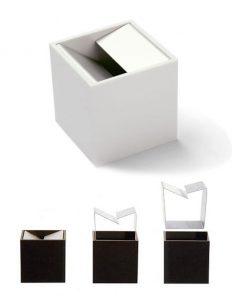 posacenere cubo bruno munari