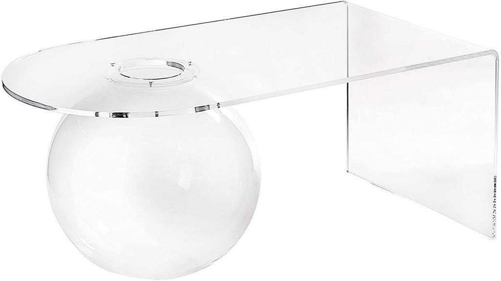 tavolini in plexiglass