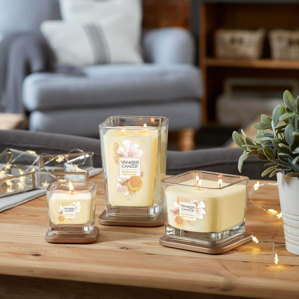 Yankee candle milke and honey