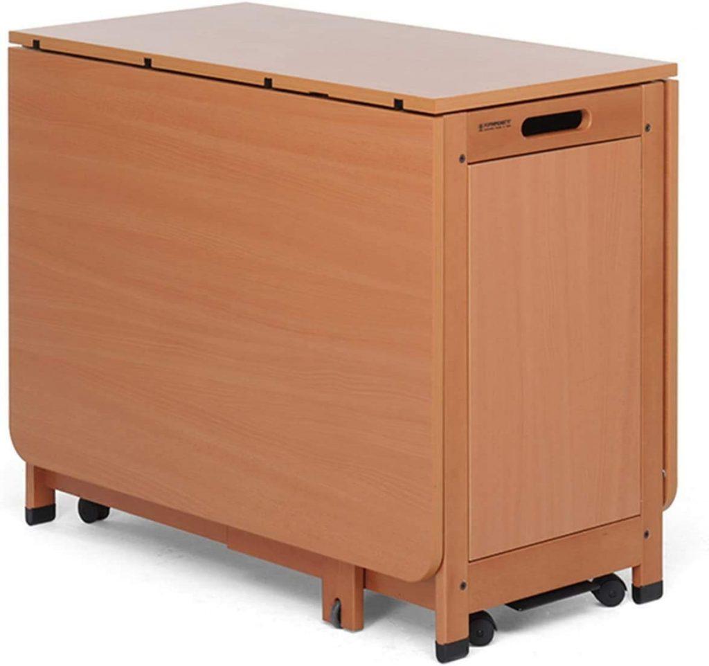 tavolino trasformabile in legno