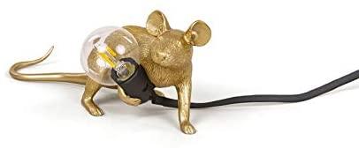lampada topo seletti oro
