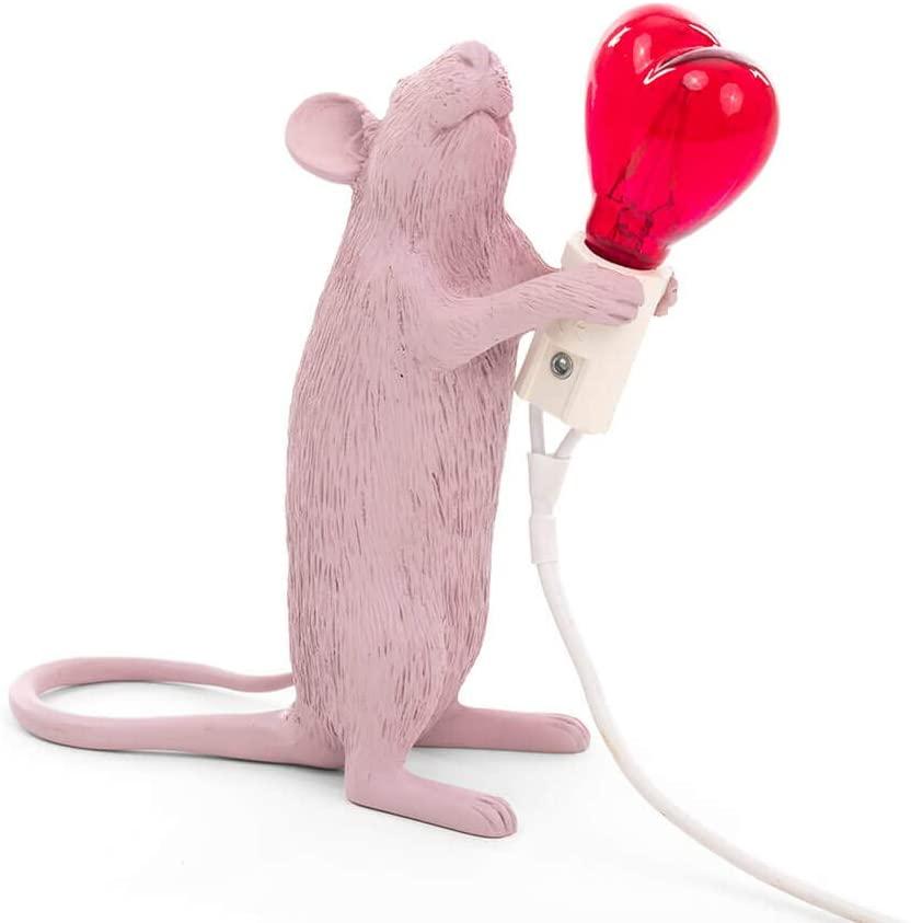 lampada topo seletti san valentino