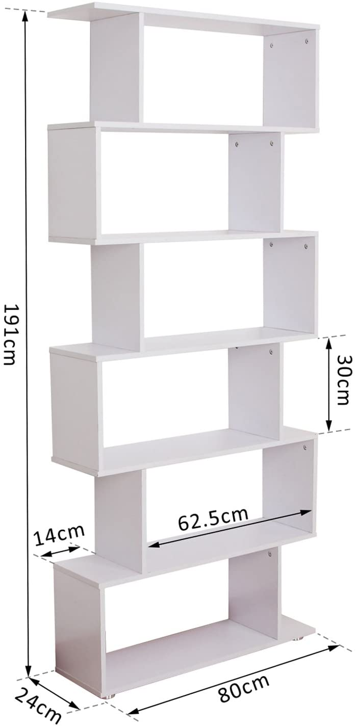 libreria design bianca
