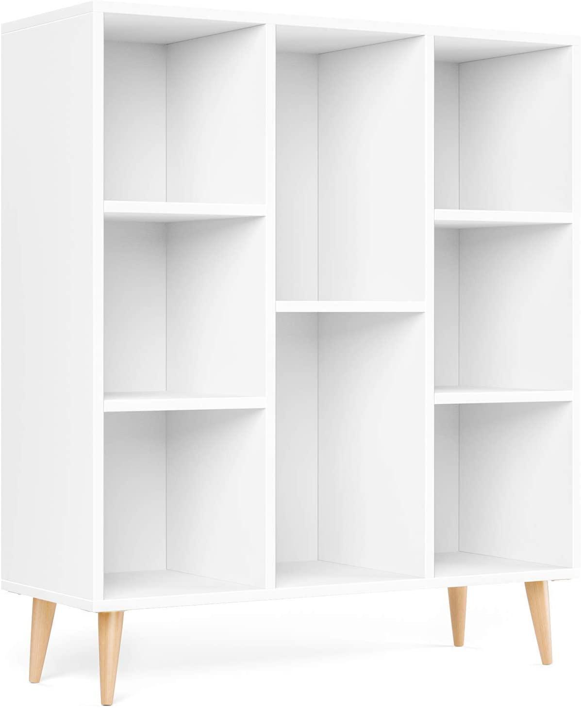 libreria moderna legno