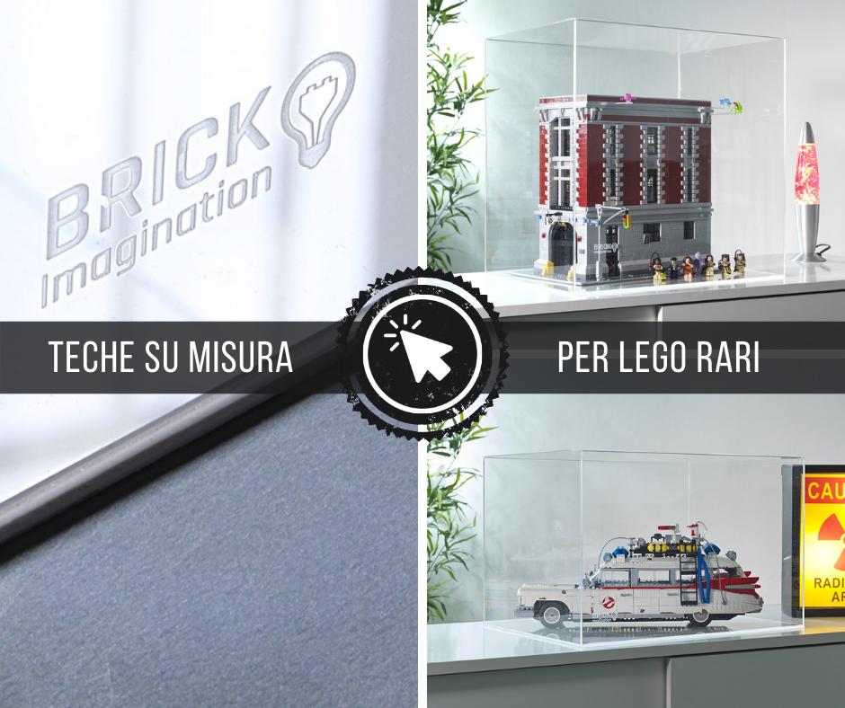 Devi proteggere il tuo LEGO da collezione?